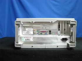 Agilent 86100B Infiniium DCA Wide-Bandwidth Oscilloscope - Rearview